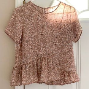 COPPER KEY adorable blouse